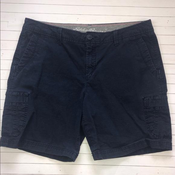 e951f17e13 Eddie Bauer Shorts | Adventurer Ripstop Cargo Navy | Poshmark